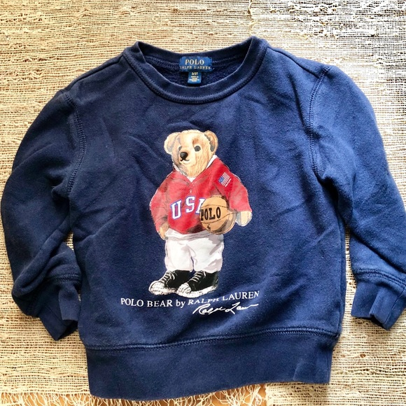 Polo by Ralph Lauren Other - Polo by Ralph Lauren Boy's POLO BEAR Sweatshirt